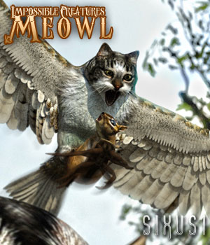 Impossible Creatures: Meowl for Daz Studio 3D Models sixus1