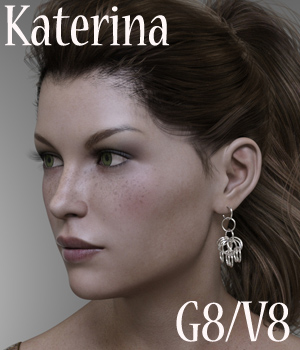 Katerina for G8/V8 3D Figure Assets Anain