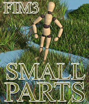 Flinks Instant Meadow 3 - Small Parts 3D Models Flink
