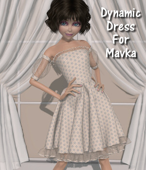 Dynamics-For the love of Mavka-01 3D Figure Assets Lully
