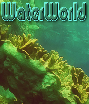WaterWorld Backgrounds  2D Graphics antje