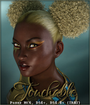 Touchable AfroPops by -Wolfie-
