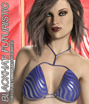 BLACKHAT:FUTURISTIC - Future Swimwear 5 for G3F 3D Figure Assets Anagord