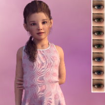 Zoey for Genesis 3 Female image 2