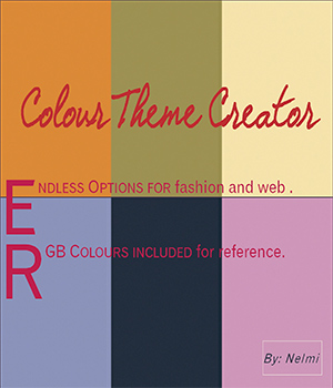Colour Theme Creator 2D Graphics nelmi