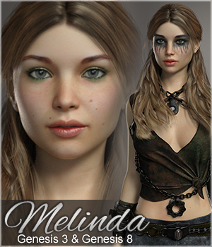 FWSA Melinda for Genesis 3 Female 3D Figure Assets Sabby