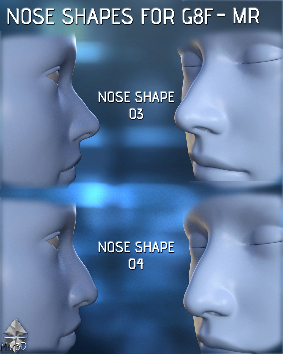 Influence of the shape of the nose on the character