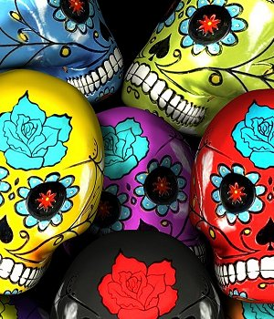 Sugar Skulls 3D Models MortemVetus