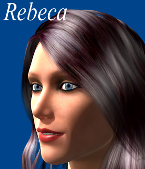 Rebeca 3D Figure Assets JeffersonAF