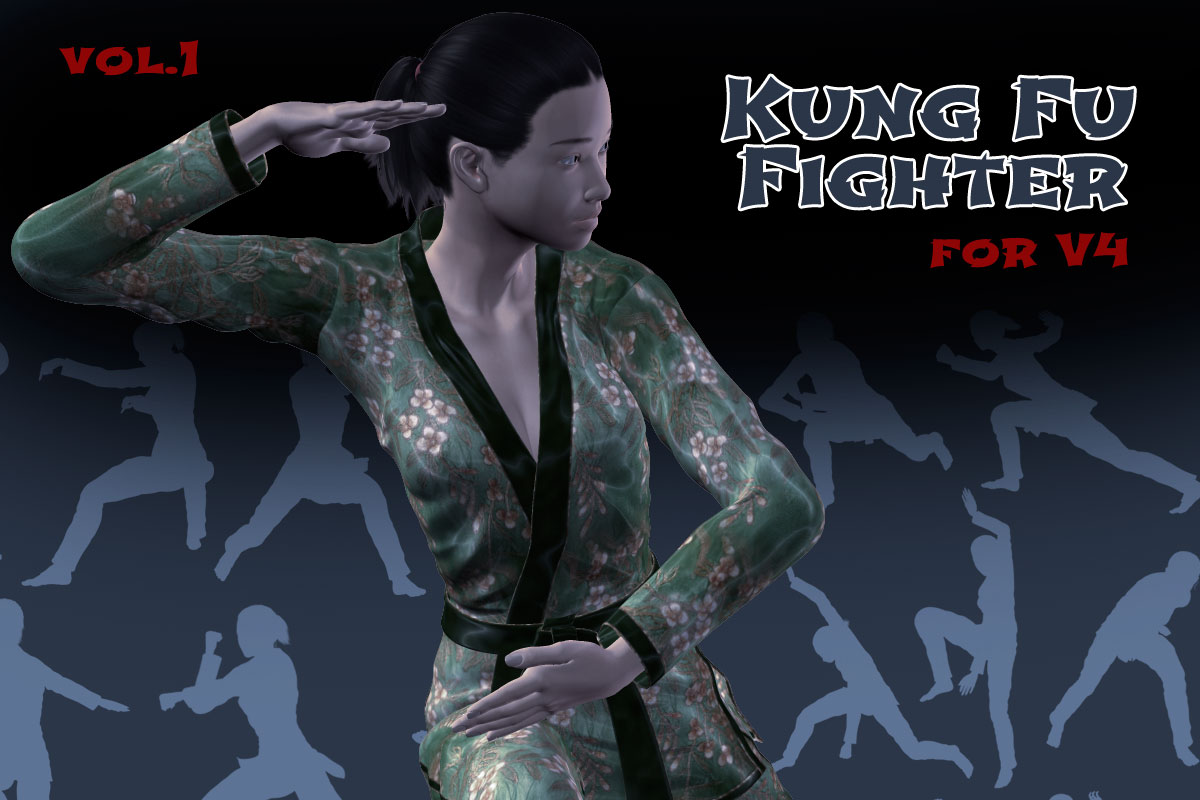 Kung Fu Fighter vol.1 for V4