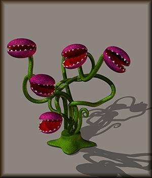 The Hungry Plant 3D Models kawecki
