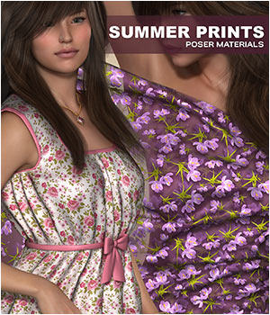 Poser - Summer Prints by Atenais