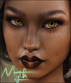 Myth for Genesis 8 Female 3D Figure Assets TwiztedMetal