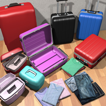 Travelers Suitcases Set - Extended License image 3