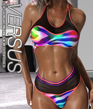 VERSUS - Georgia Lingerie for Genesis 3 Female(s) 3D Figure Assets Anagord