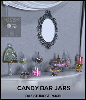 Candy Bar jars (DS) 3D Models 3D_Style