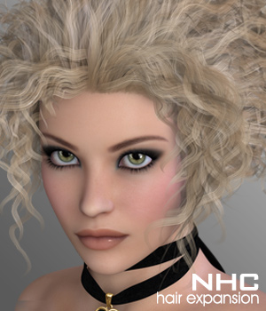 NHC Expansion : Gemi Hair 3D Figure Assets P3D-Art