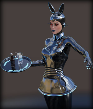 Pin-Up Gynoid Phase8 for G3F 3D Models EdArt3D