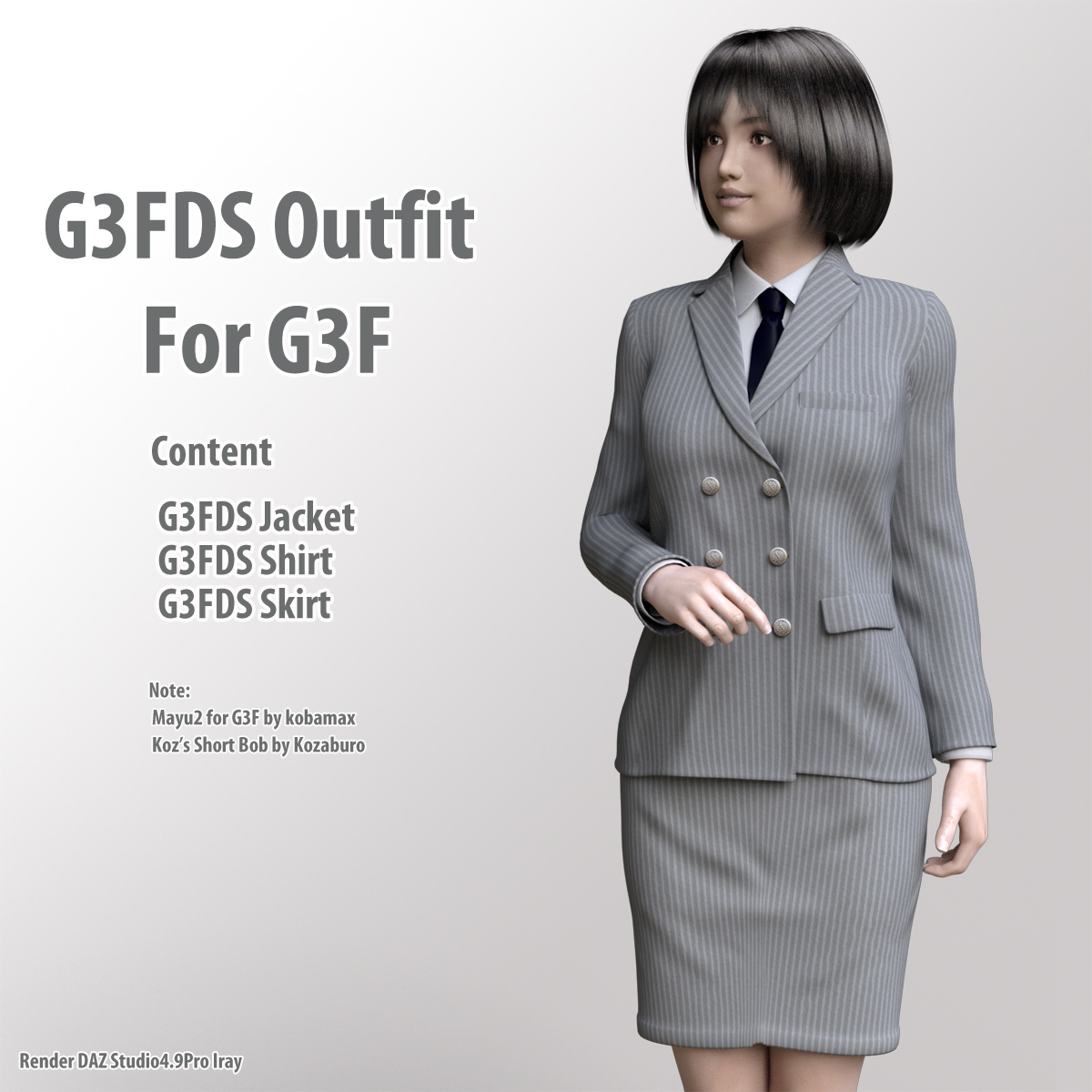G3FDS Outfit for G3F