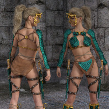 Dragon Scale for Genesis 8 female image 1