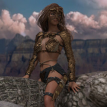 Dragon Scale for Genesis 8 female image 6