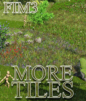 Flinks Instant Meadow 3 - More Tiles 3D Models Flink