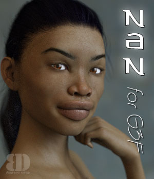 Nan for G3F 3D Figure Assets bigdreams