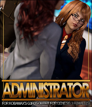 Administrator for G3FDS Outfit 3D Figure Assets ShanasSoulmate