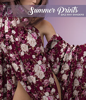DAZ Iray - Summer Prints by Atenais