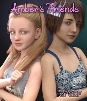Amber's Friends 3D Figure Assets AliveSheCried