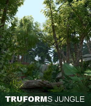 TruForms Jungle 3D Models TruForm