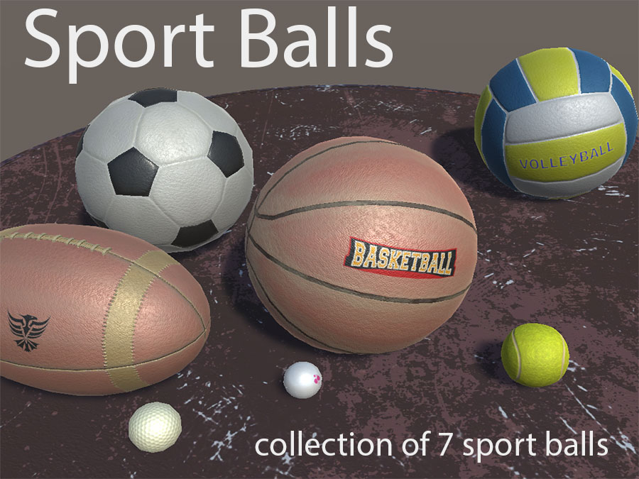 Sport Ball Items - Extended License