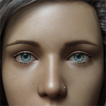 Eyes,Eyebrows&Lashes Morphs for G8F Vol 1 image 1