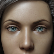 Eyes,Eyebrows&Lashes Morphs for G8F Vol 1 image 2