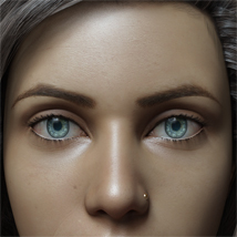 Eyes,Eyebrows&Lashes Morphs for G8F Vol 1 image 3
