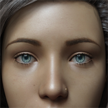 Eyes,Eyebrows&Lashes Morphs for G8F Vol 1 image 4