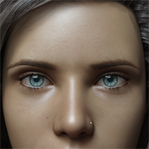 Eyes,Eyebrows&Lashes Morphs for G8F Vol 1 image 7