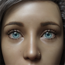Eyes,Eyebrows&Lashes Morphs for G8F Vol 1 image 11