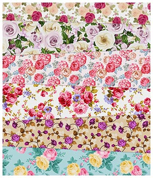 Rose Fabric Prints 2D Graphics Merchant Resources Medeina