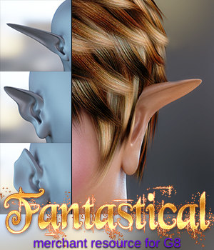 Fantastical Genesis 8 Female(s) 3D Figure Assets 3DSublimeProductions
