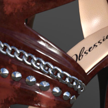 Obsession High Heels for Genesis 8 Females image 2