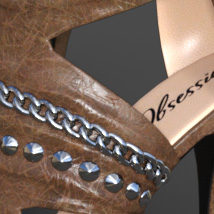 Obsession High Heels for Genesis 8 Females image 3