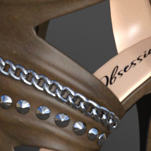 Obsession High Heels for Genesis 8 Females image 4