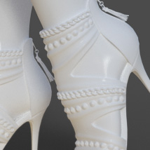 Obsession High Heels for Genesis 8 Females image 6
