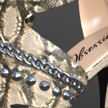 Obsession High Heels for Genesis 8 Females image 8