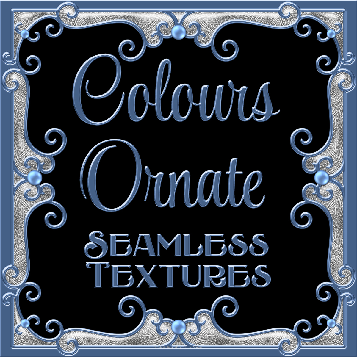 Ornamental Colours Seamless Texture Pack
