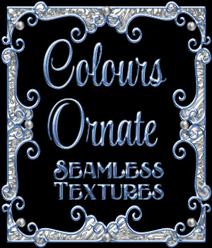Ornamental Colours Seamless Texture Pack 2D Graphics Merchant Resources fractalartist01