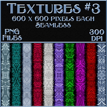 Ornamental Colours Seamless Texture Pack image 3
