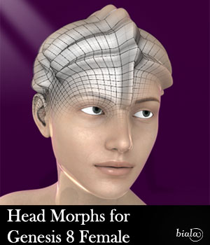 Head Morphs For Genesis 8 Female 3D Figure Assets biala