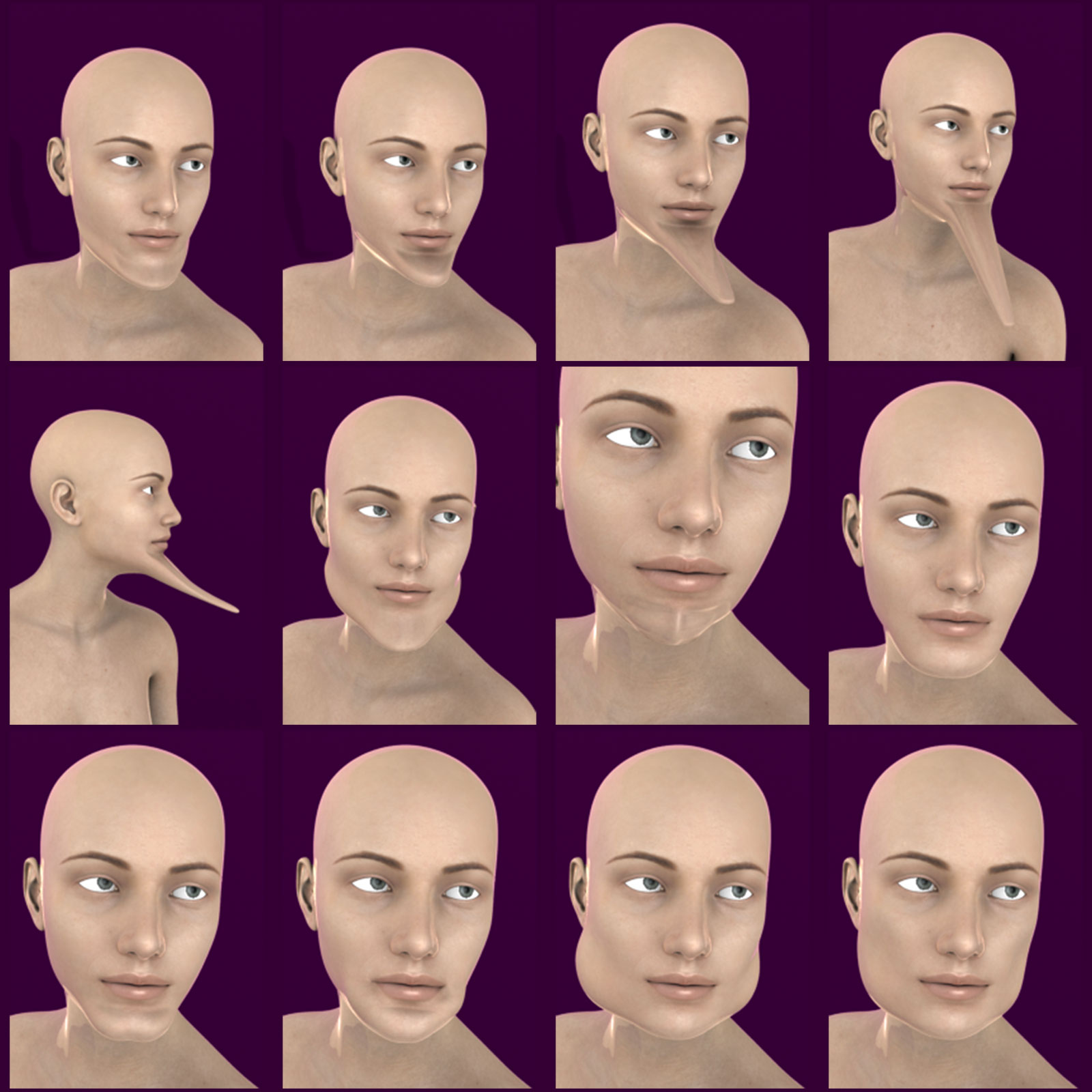 Jaw Morphs For Geness 8 Female